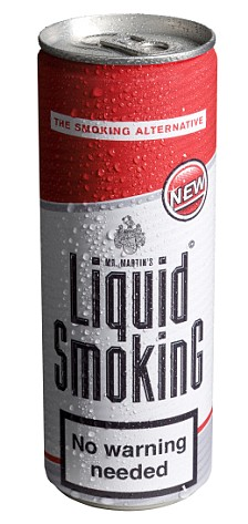 New trend - liquid cigarettes?